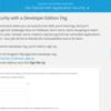SFDC:アプリケーションセキュリティの学習