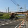 可部線打越架道橋の銘板