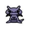ゲンガー(ポケモン)の色のぷちゴン|ぷちゴン