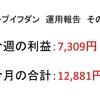 2018年8月第2周目(8/6~8/10)の運用利益報告 第7回【ループイフダン不労所得】