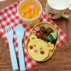 セリアで幼稚園お弁当♪くまさんのオムライス弁当♪