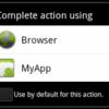 Xamarin.Android インテント