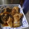 幸運な病のレシピ( 1778 )朝:味付け肉、カレイの煮つけ、鮭、塩サバ、味噌汁、マユのご飯