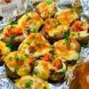 【レシピ】トースターで簡単♬明太チーズ椎茸♬