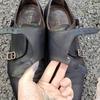 【初めての革靴の染め替えに挑戦】ブラウンのダブルモンクをネイビーに自分で染めてみるDIY!