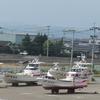 南部鉄器マン・有明海の船