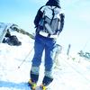 1/7 快晴の北横岳で雪山アイゼンデビュー