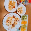 ~お星さまパンケーキ~幼稚園年少と1歳0ヶ月の夏休みご飯