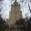 ホテル ウクライナ とその向かいの建物