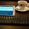 GALAXY Noteレビューその10/Bluetoothキーボードを利用する