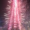 【2016-2017ドバイのカウントダウン】世界一高いビルのブルジュ・ハリファの目の前でカウントダウン☆☆