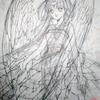 「天使の歌」下絵のままになっていた絵:スマホ用マイクを使った結果