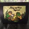 折り畳み額シリーズ:蛙アゲイン①