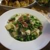 イタリア料理レシピ パスターグリンピースと生ハムのパッパルデッレ