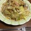 筍とキャベツとツナのペペロンチーノ