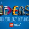 【キャンペーン】あたらしいレゴ アイデアのロゴを募集中!もちろん賞品あり!!  11/14~12/15