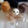猫毛フェルト ちびねこ