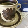 ARABIA アラビア Tunturi トゥントゥリ コーヒーカップ&ソーサー アラビア社を代表するデザイナーウラ・プロコッペが手がけたの トゥントゥンリです。