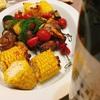 牛肉と野菜のクミン風味グリル