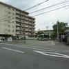 京都市バス終点の風景「松尾橋」