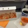 2014年ロンドン・パリ旅行⑫ ロンドン発 ミュンヘン行 機内食