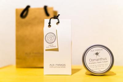 【秋限定のキンモクセイの香り】AUX PARADISでお気に入りのハンドクリームと香水をゲットしてきました。