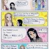 4コマ漫画: カナダ人の日韓認識