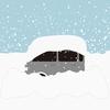 《大雪で大変!》