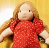 ウォルドルフ人形、クッションカバー、バッグ2品、ちぎりパン、ショートケーキ。文集に寄稿。今年もお世話になりました♪