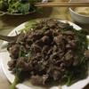 おすすめベトナム料理  phở xào(焼きフォー)