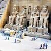 【エジプト4】アブシンベル神殿と馬車とコーラ