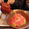 近江牛のしゃぶ肉にだし汁を注ぎかけるうどん!ちゃかぽんの「二代目」が最高に美味しかった!