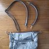 ショルダーバッグの修理;「ショルダーベルトの金具の一つが外れて取れてしまいました」   ・・・K's factory