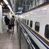 JR金沢駅 北陸新幹線12番線ホームに到着