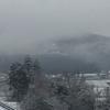 雲海と雪とお城(太田)