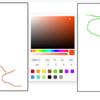 React/Canvasとreact-colorを利用して書いた絵を保存する