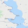 北浦サイクリング 北浦大橋〜山田川河口