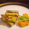 ホワイトアスパラの含め煮とオランデーズソース 神戸三ノ宮の季節の地野菜料理は安東