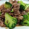 牛肉が安く手に入ったらこれですよ~!牛肉とブロッコリーのオイスター炒め