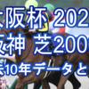 【大阪杯 2021】過去10年データと予想