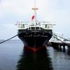 山下公園の日本郵船氷川丸の船内見学はオススメ。