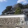56番札所の泰山寺はお城のような石垣の上にあります