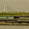 【写真複製・写真修復の専門店】横浜 大さん橋とベイブリッジ