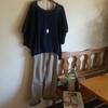 今日のシンプルコーディネート♪~昨年買った無印良品の洋服コーデ【40代ファッション夏】