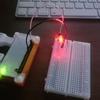 PWMでRaspberryPiに接続したLEDの明るさを変える
