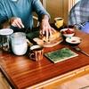 北窯の松田米司さんのくし目板皿