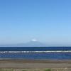 冷え込んだ朝…富士山ビュー(^_-)-☆