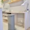 【おしゃれゴミ箱】キッチンの中で目立ってもOKなブラバンシアのゴミ箱。
