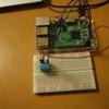 raspberry piでの温度湿度計 dht11の使い方
