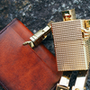 【革とライタン】Lugard G-3 革のボックス型小銭入れ と薄型長財布 [5202 5206]